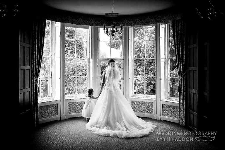 Brooksby Hall indoor wedding photography