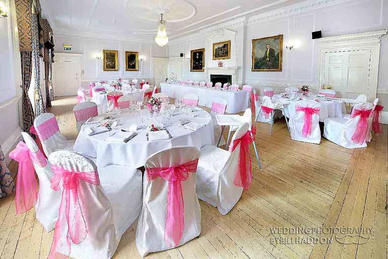Brooksby Hall wedding breakfast