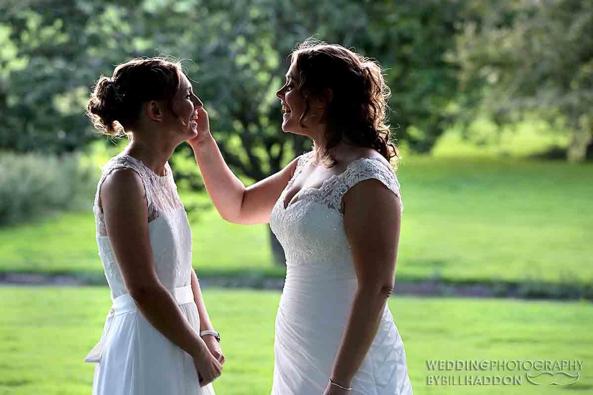 Brooksby Hall wedding