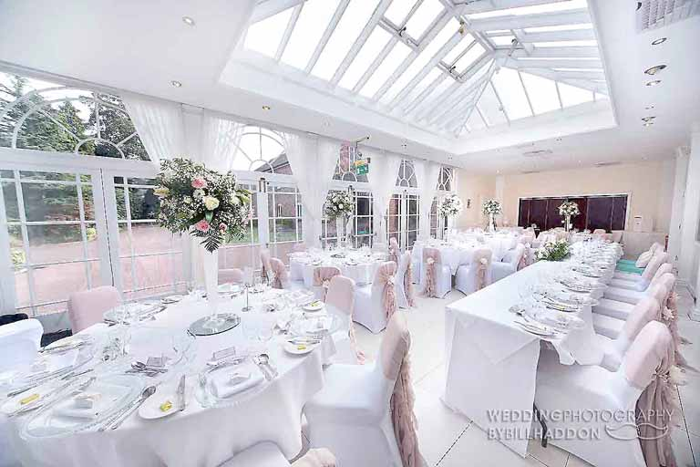 Quorn Country Hotel wedding breakfast