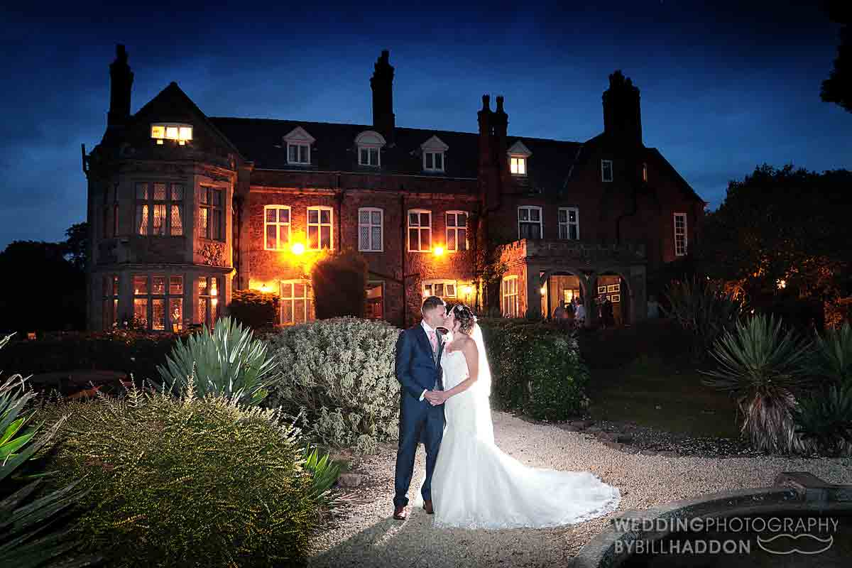 Rothley Court Hotel night time