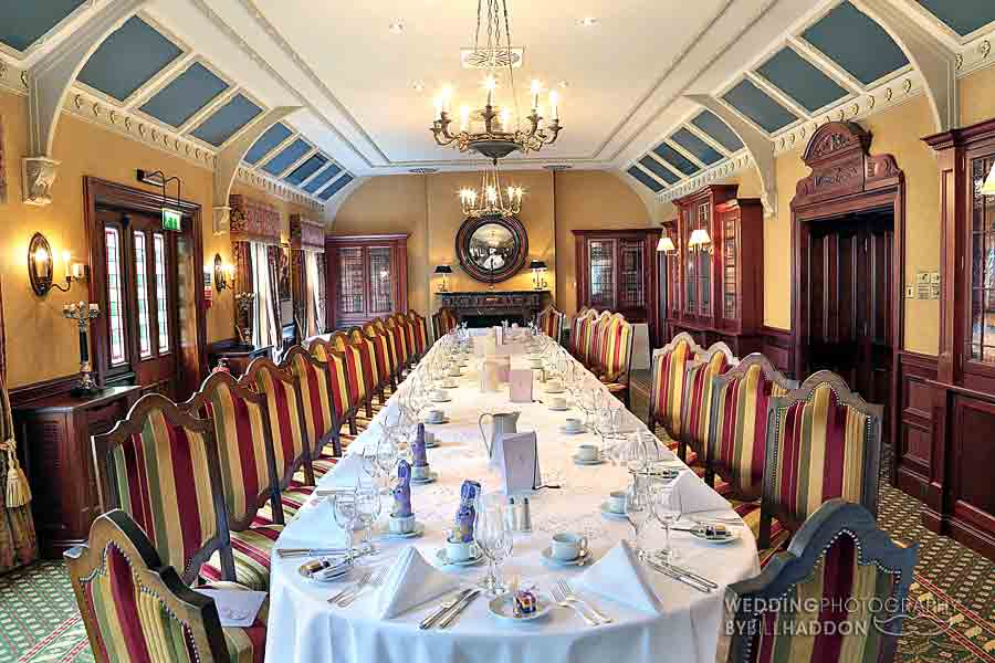 Kilworth House Hotel Library restaurant